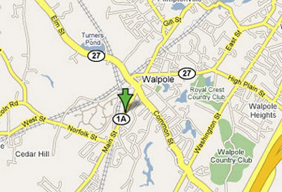 Map Location of O'Connell's Body Works, Inc.